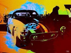 Ferrari Watercolor by NaxArt