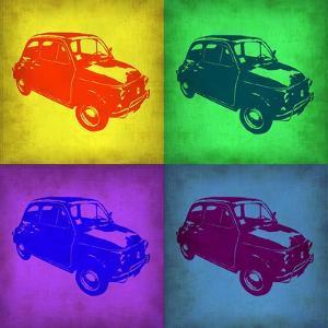 Fiat 500 Pop Art 1 by NaxArt