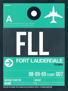 FLL Fort Lauderdale Luggage Tag II by NaxArt