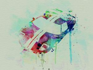 Ford Gt Top Watercolor by NaxArt