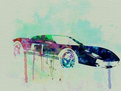 Ford Gt Watercolor 2 by NaxArt