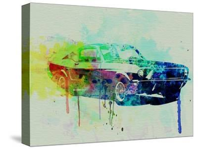 Ford Mustang Watercolor 2 by NaxArt