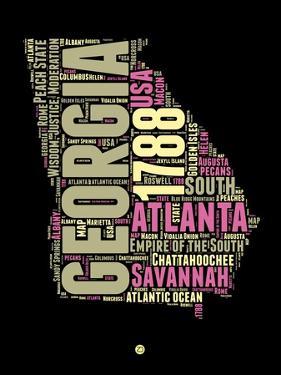 Georgia Word Cloud 1 by NaxArt