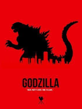 Godzilla by NaxArt