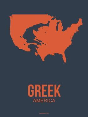 Greek America Poster 3 by NaxArt