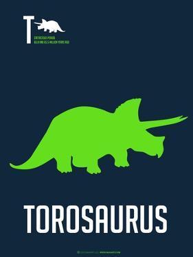 Green Dinosaur by NaxArt