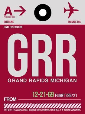 GRR Grand Rapids Luggage Tag II by NaxArt