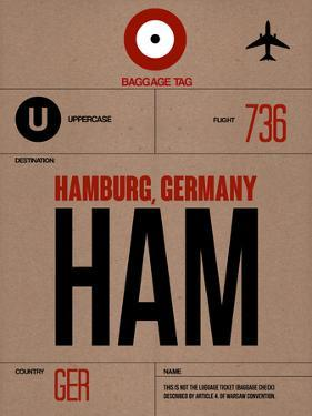 HAM Hamburg Luggage Tag 1 by NaxArt