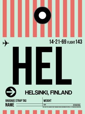 HEL Helsinki Luggage Tag I by NaxArt