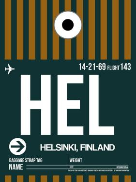 HEL Helsinki Luggage Tag II by NaxArt