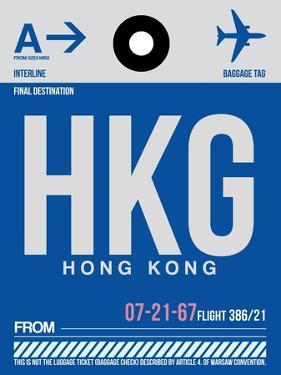 HKG Hog Kong Luggage Tag 1 by NaxArt
