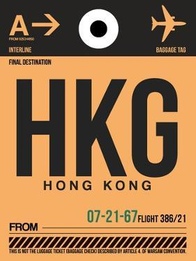 HKG Hog Kong Luggage Tag 2 by NaxArt