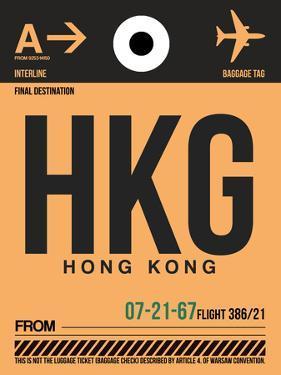 HKG Hog Kong Luggage Tag 2 by NaxArt