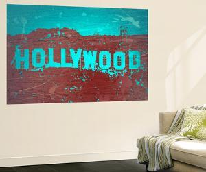 Hollywood Sign by NaxArt