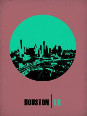 Houston Circle Poster 1 by NaxArt