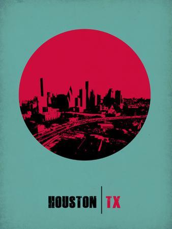 Houston Circle Poster 2 by NaxArt
