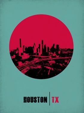 Houston Circle Poster 2 by NaxArt