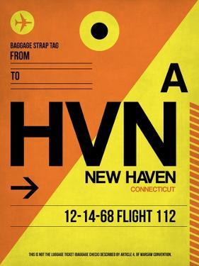 HVN New Haven Luggage Tag I by NaxArt