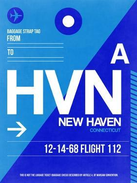 HVN New Haven Luggage Tag II by NaxArt