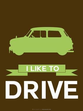 I Like to Drive Mini Cooper  2 by NaxArt
