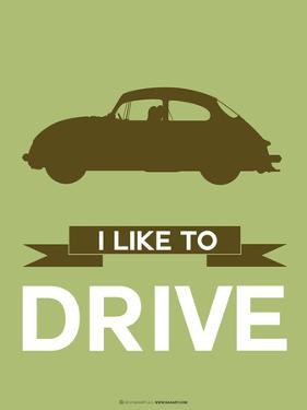 I Like to Drive Porsche 1 by NaxArt