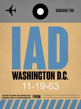 IAD Washington Luggage Tag 1 by NaxArt