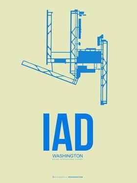Iad Washington Poster 1 by NaxArt