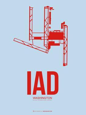 Iad Washington Poster 2 by NaxArt