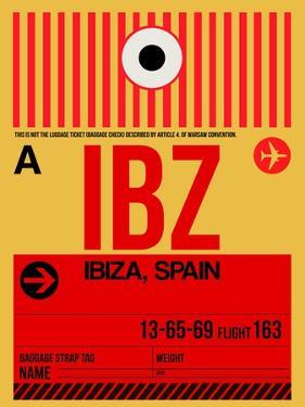 IBZ Ibiza Luggage Tag I by NaxArt