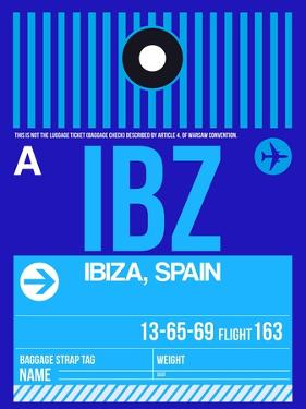 IBZ Ibiza Luggage Tag II by NaxArt
