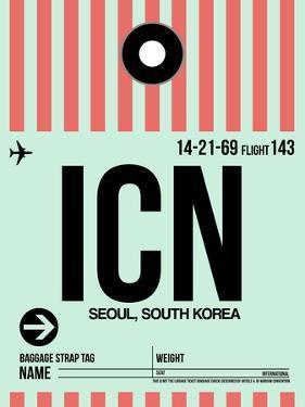 ICN Seoul Luggage Tag I by NaxArt