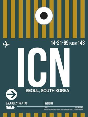 ICN Seoul Luggage Tag II by NaxArt