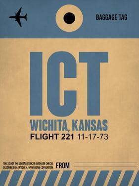 ICT Wichita Luggage Tag I by NaxArt