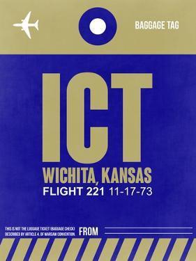 ICT Wichita Luggage Tag II by NaxArt