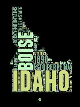 Idaho Word Cloud 1 by NaxArt