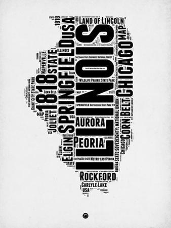 Illinois Word Cloud 2 by NaxArt