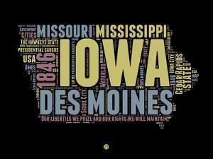 Iowa Word Cloud 1 by NaxArt