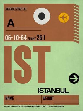 IST Istanbul Luggage Tag 2 by NaxArt