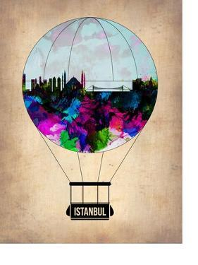 Istanbul Air Balloon by NaxArt