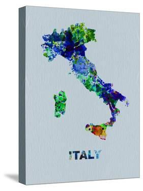 Italy Color Splatter Map by NaxArt