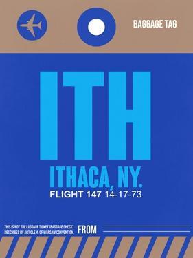 ITH Ithaca Luggage Tag II by NaxArt
