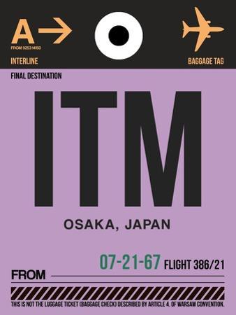 ITM Osaka Luggage Tag I by NaxArt