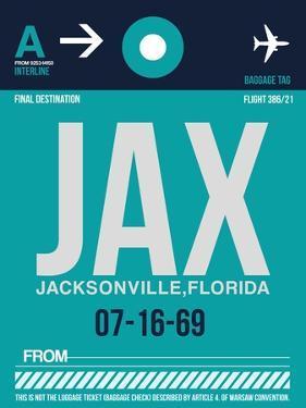 JAX Jacksonville Luggage Tag II by NaxArt