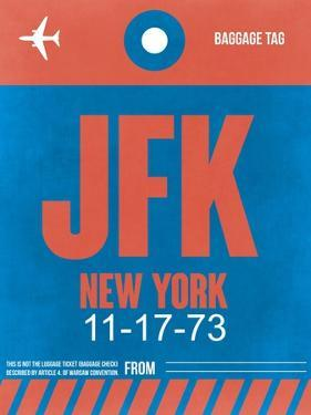 JFK New York Luggage Tag 1 by NaxArt