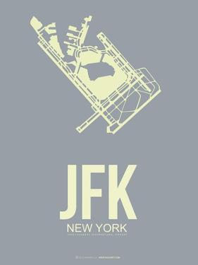 Jfk New York Poster 1 by NaxArt