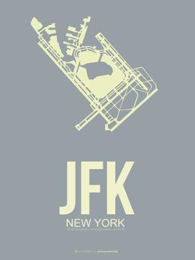 Jfk New York Poster 1 by NaxArt