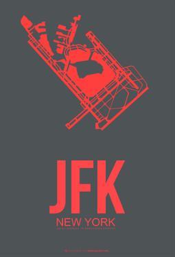 JFK New York Poster 2 by NaxArt
