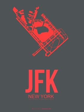 Jfk New York Poster 2 by NaxArt