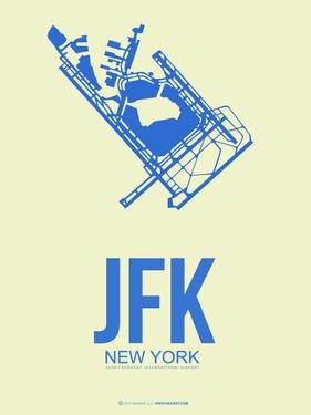 Jfk New York Poster 3 by NaxArt