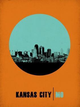 Kansas City Circle Poster 1 by NaxArt